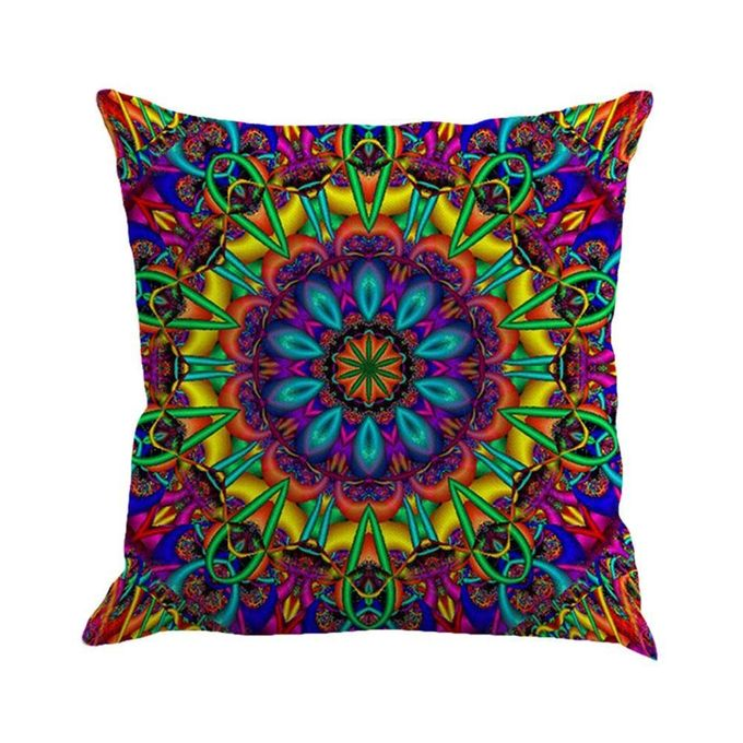 New Bohemian Pattern Throw Pillow Cover Car Cushion Cover Pillowcase Home Decor ,45*45cm –  مصر