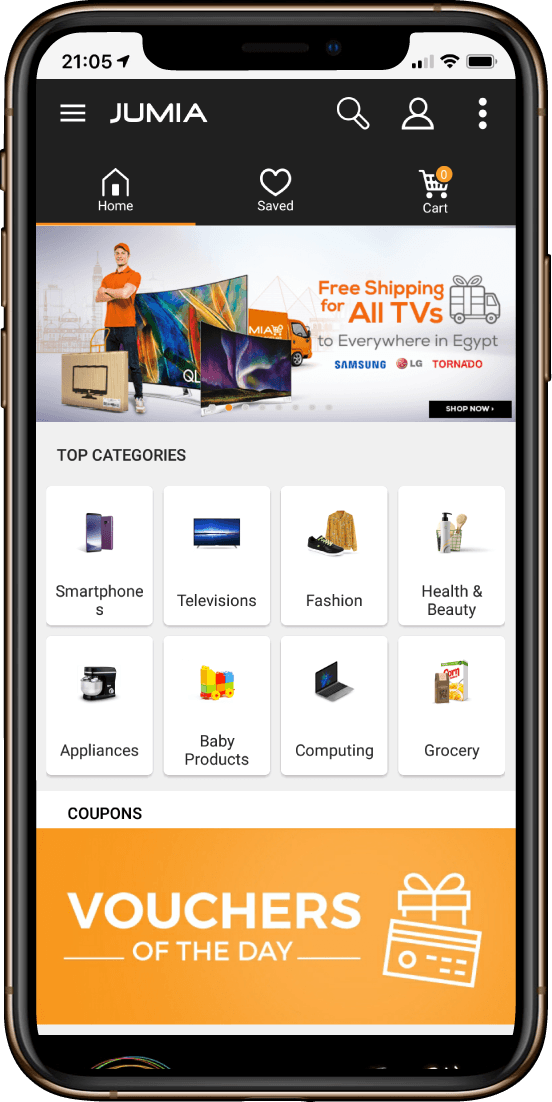 jumia shopping mobile app