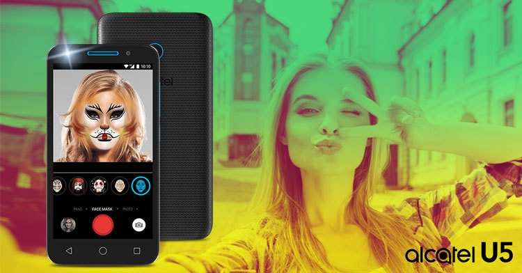 alcatel U5 Selfie Apps