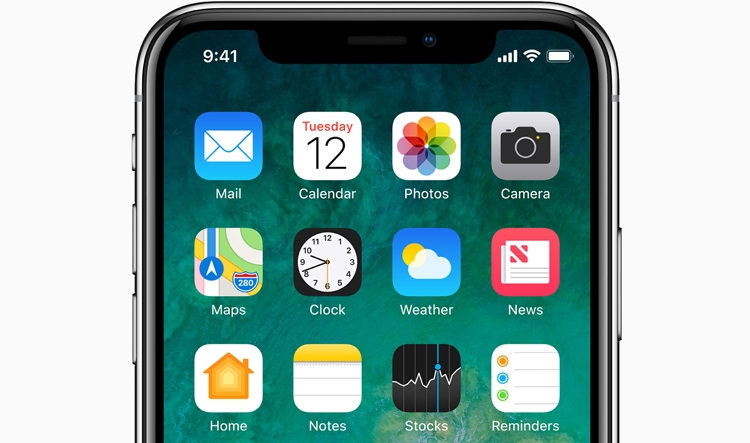 Apple iPhone X iOS 11