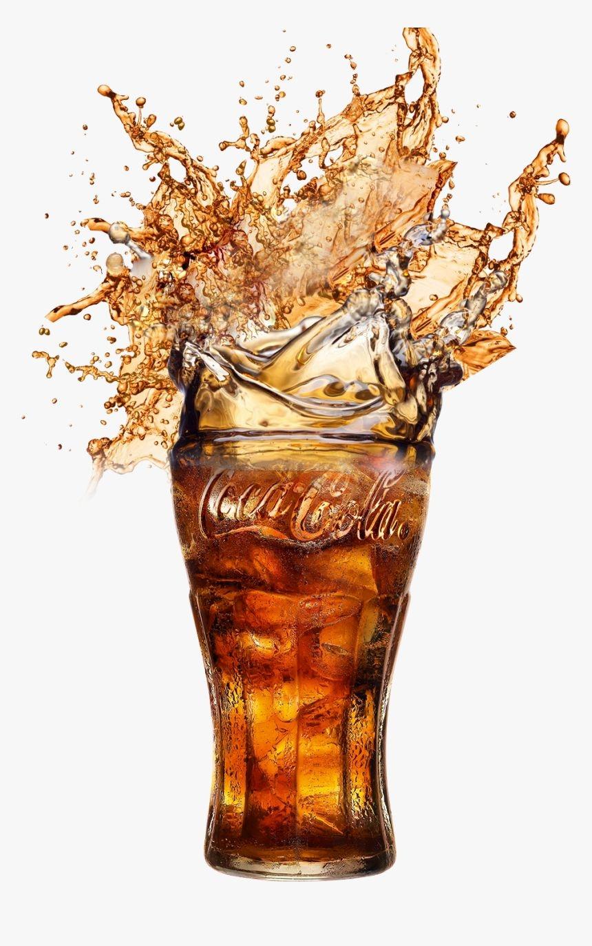 cocacola #glass #soda - Coca Cola Glass Png, Transparent Png - kindpng