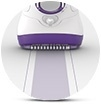40  %25 25  wider head for faster epilation