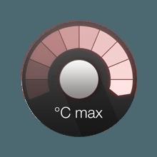 Temperature boost button