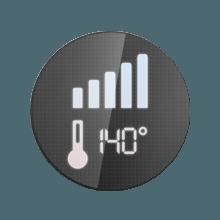 Advanced temperature control display