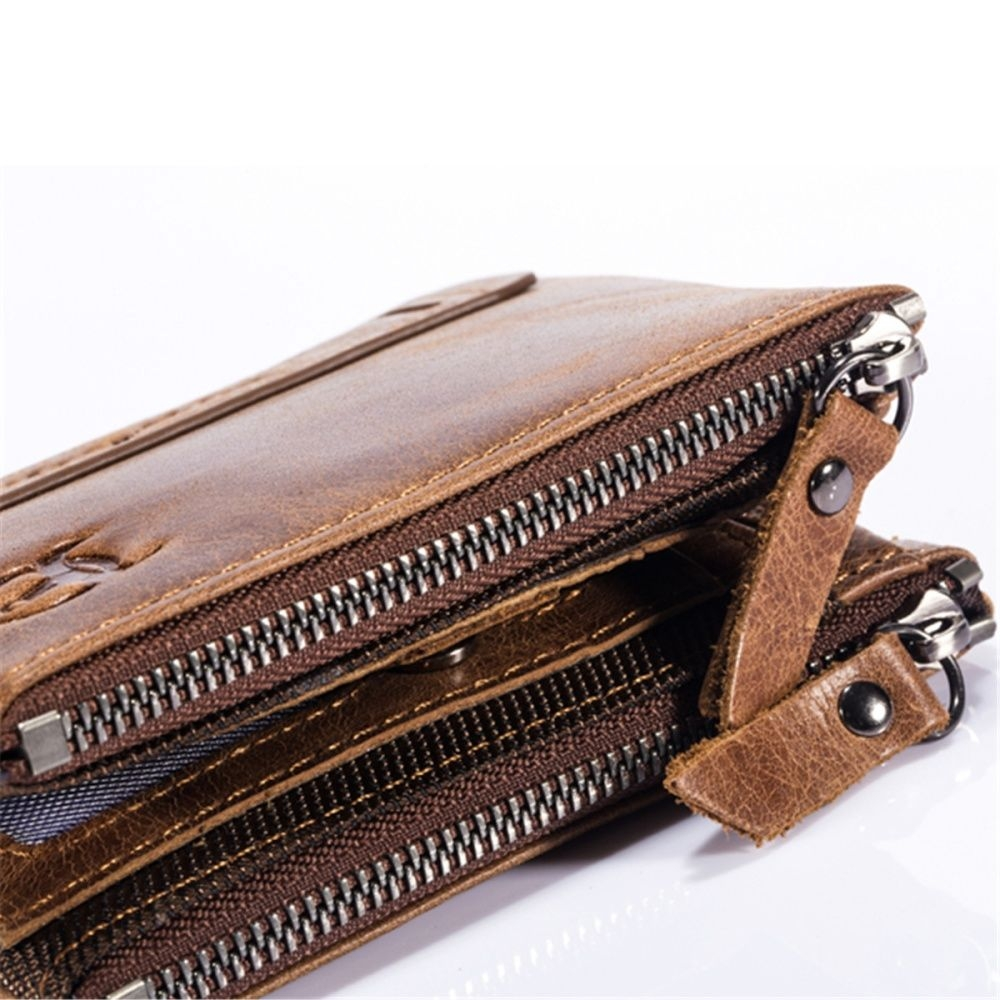 image. Key Features. Brand: Bullcaptain; Material: Genuine Leather ...