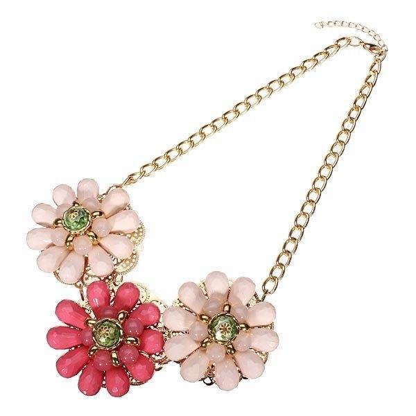 Beads Flower Choker Necklace