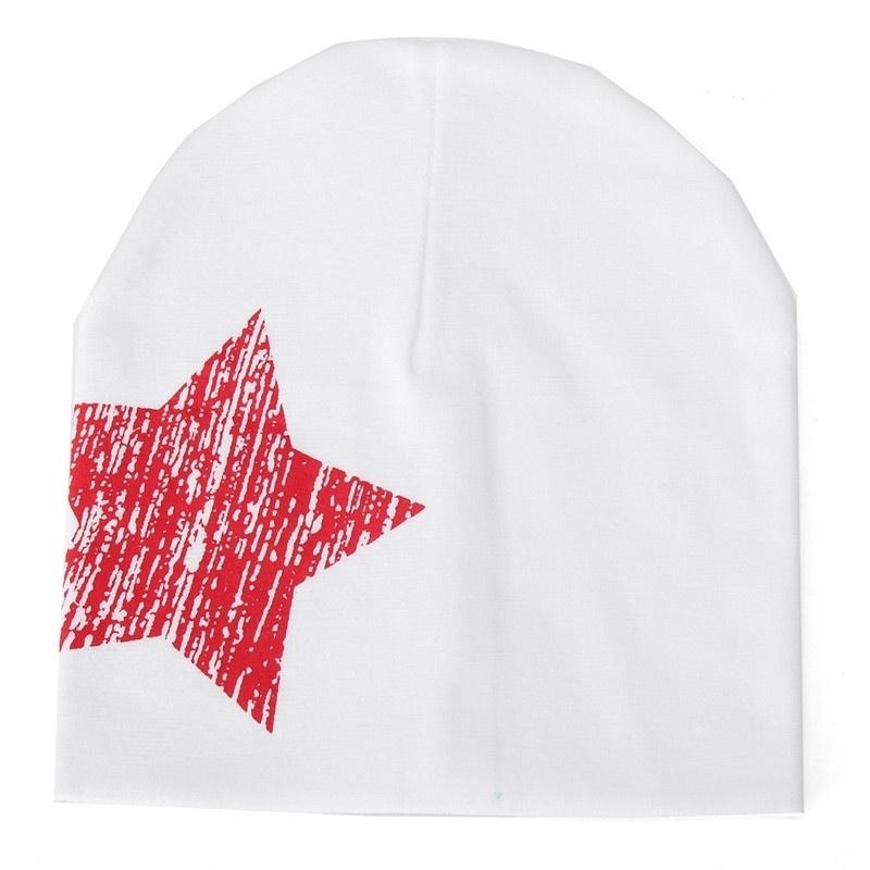 Autumn Winter Boy Girl Baby Toddler Kids Cotton Stars Soft Hat Beanie Cap New