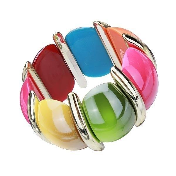 Bohemia Wide Elastic Bracelet