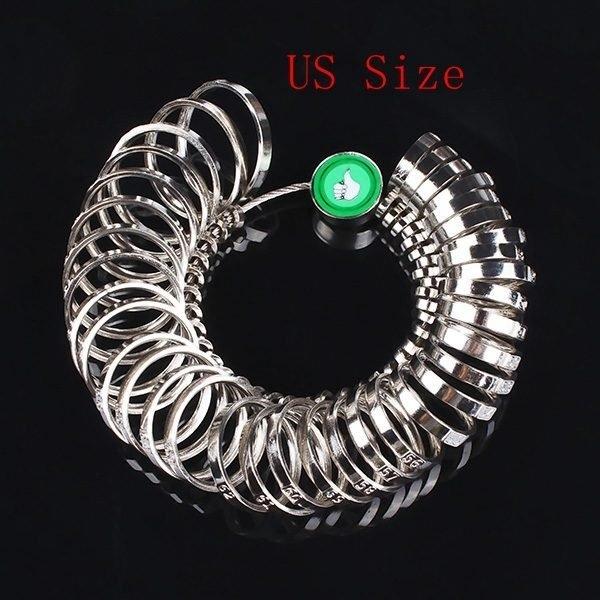 Metal Finger Ring Sizer