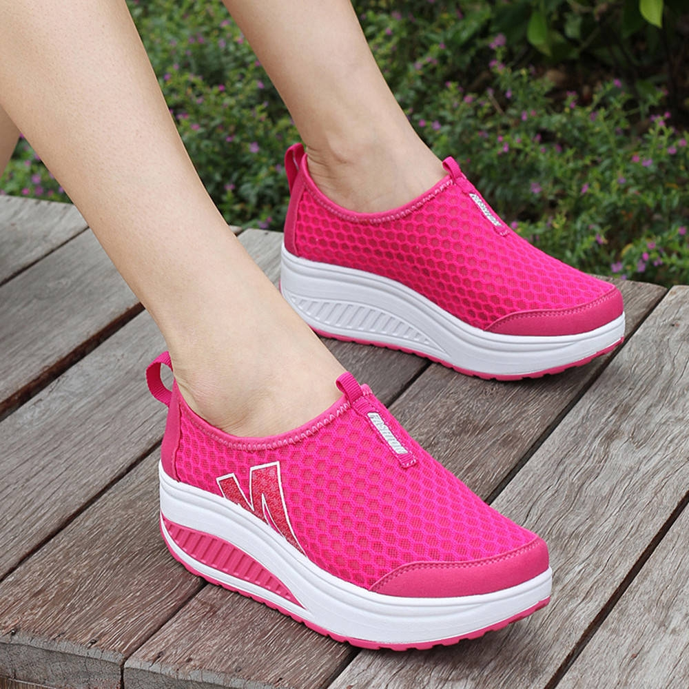 f5ffaaf1785166 سعر Fashion Blicool Shoes Fashion Women Platform Shoes Women Loafers ...