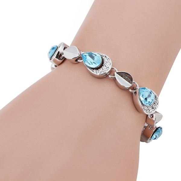 Austrian Crystal Angel Tears Bracelet