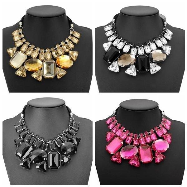 Luxury Big Crystal Necklace