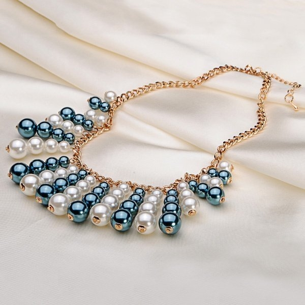 Multilayer Pearl Chunky Necklace
