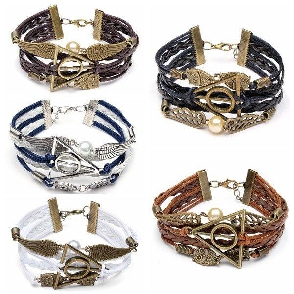 Owl Wings Bracelet