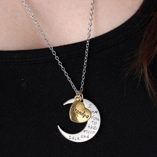 Family Member Letter Necklace