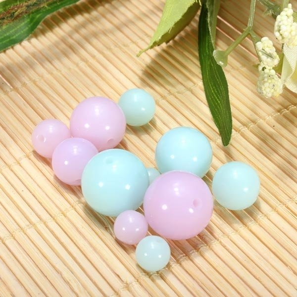 Candy Color Loose Beads