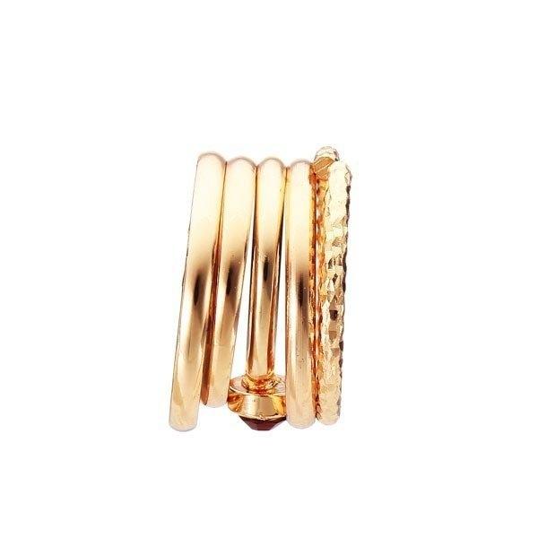 Crystal Knuckle Ring Set