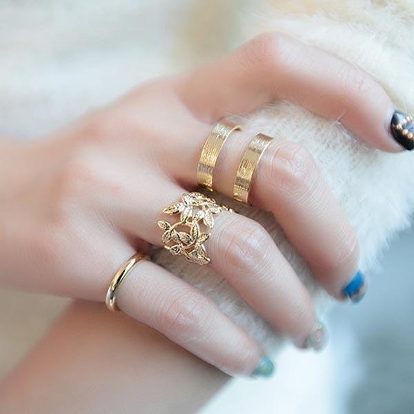 3pcs Midi Knuckle Rings