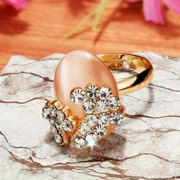 Little Feet Alloy Opal Rings