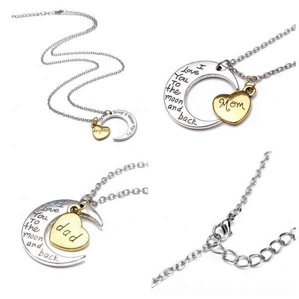 Family Member Letter Necklace