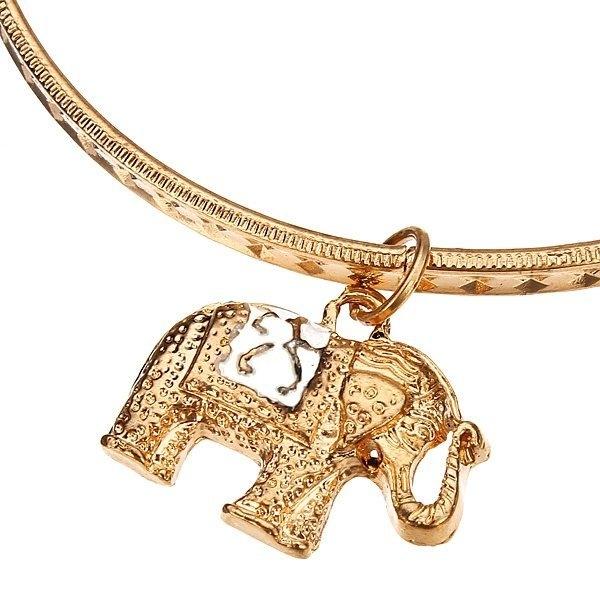 Gold Plated Stretch Bracelet