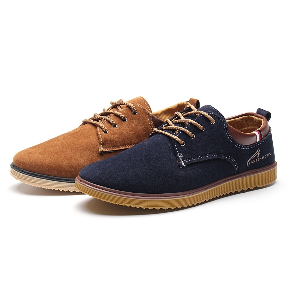 On Men's Oxfords Casual Shoes Leather Suede Sale Sneakers F8qSq