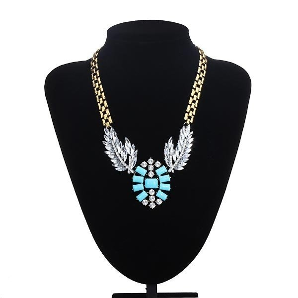 Resin Wing Feather Necklace
