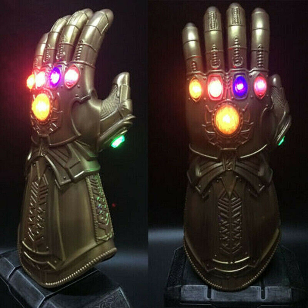 Order 2019 Figure & LED Light Thanos Infinity Gauntlet