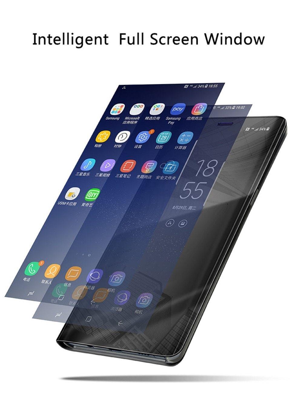 Luxury Mirror cases for iphone 6 6s 7 8 Plus X 04