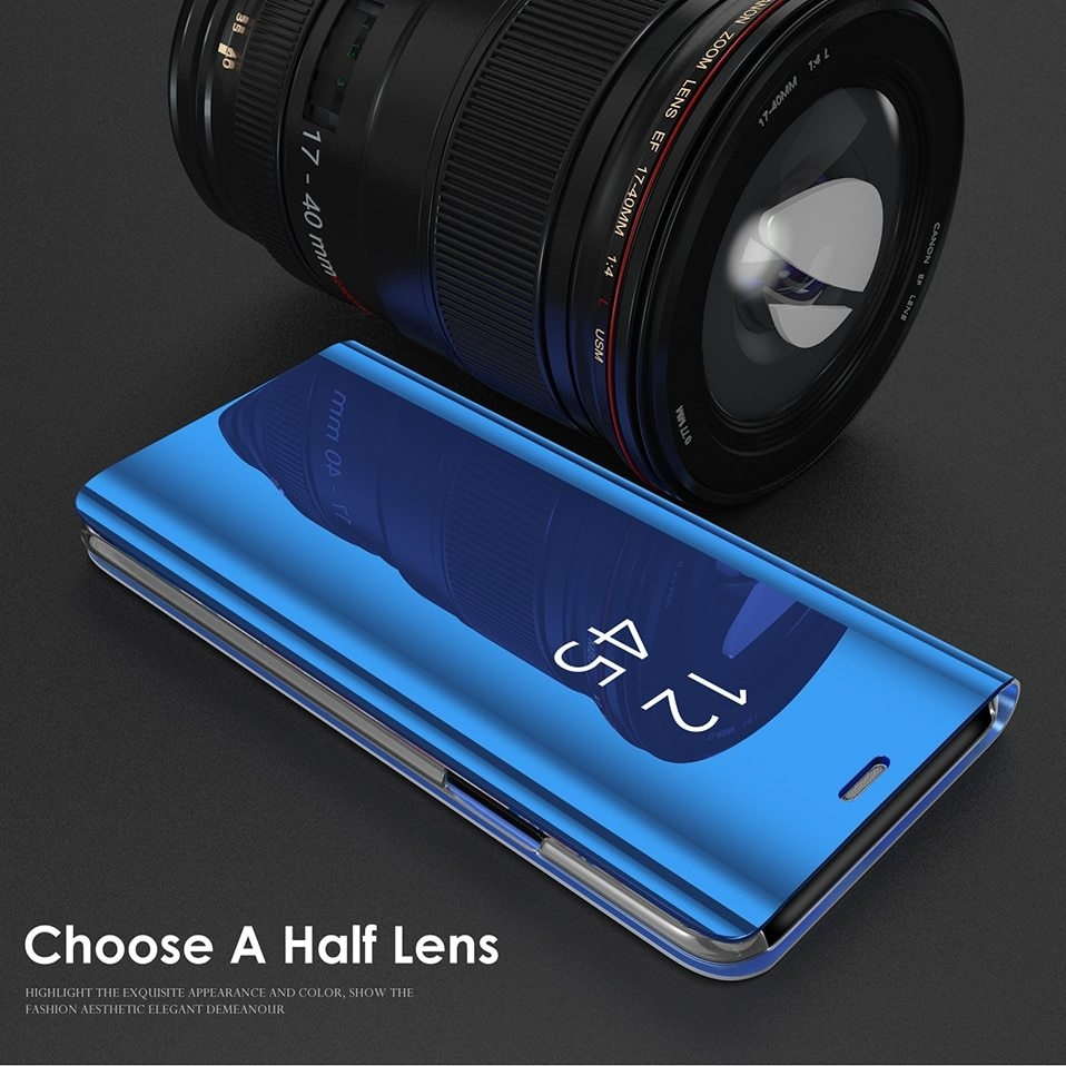 Mirror Flip Case For Samsung s8 s9 plus 07
