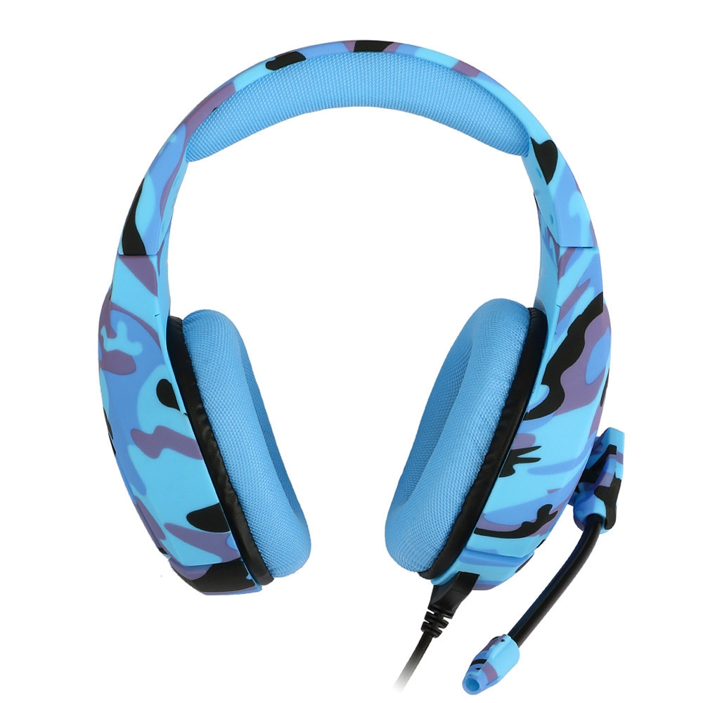 ONIKUMA K1 PS4 Gaming Headset casque Wired PC Stereo Earphones Headphones with Microphone for New Xbox OneLaptop Tablet Gamer (3)