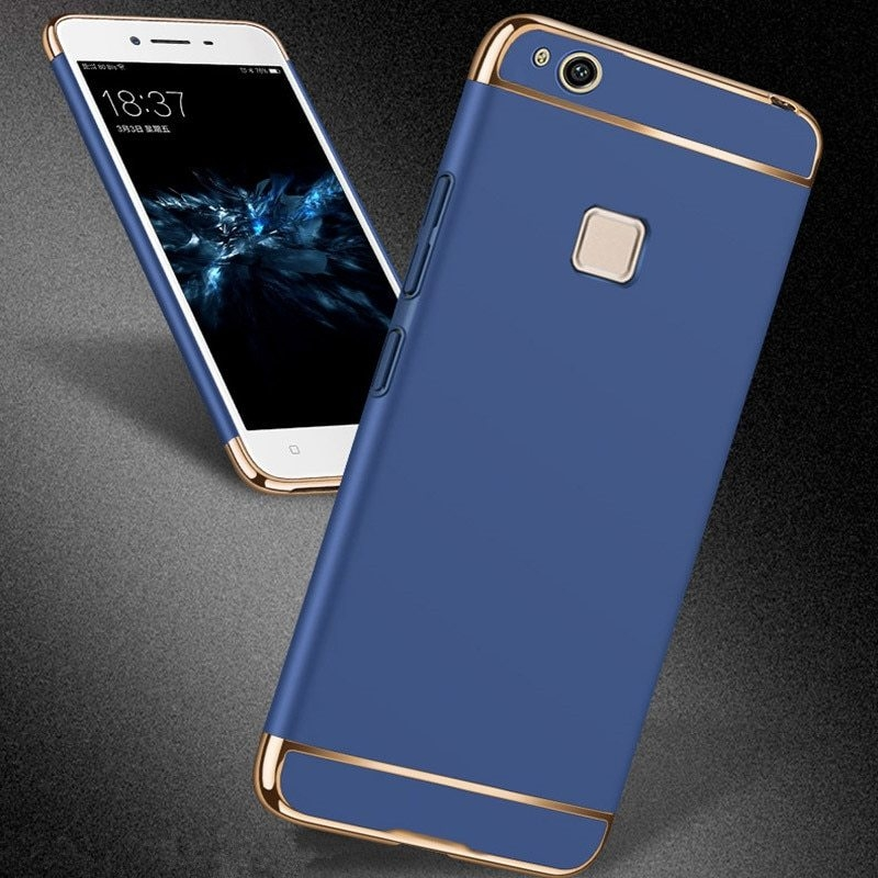 Huawei-P10-Lite-Case-Frame-cover-back-Ultra-thin-hard-3-in-1-protective-coque-for