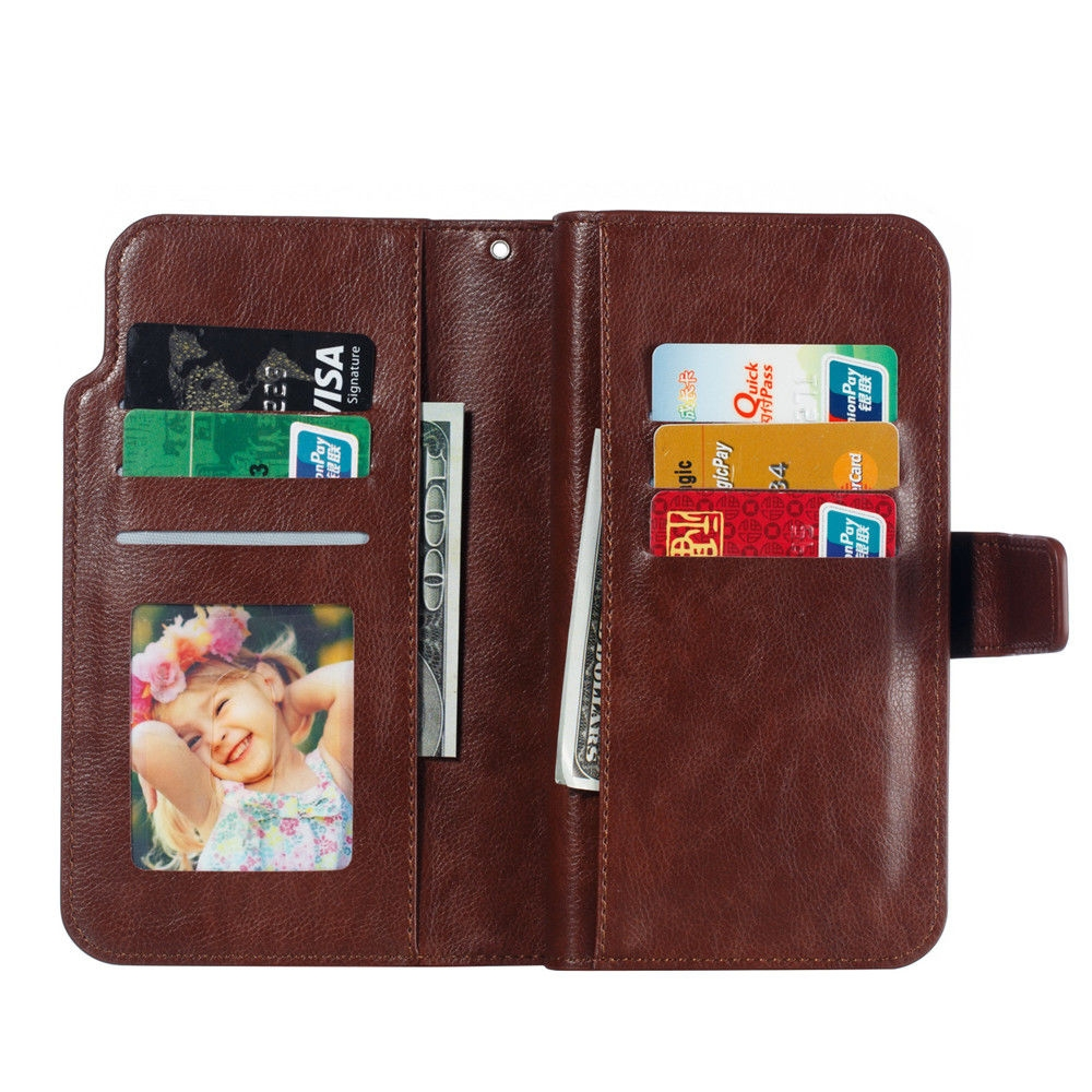 Leather case For Samsung Galaxy A6 A8 Plus A7 2018 Case Cover Wallet card holder Magnet Flip Phone cases on For Samsung Galaxy J4 J6 Plus Case Cover29
