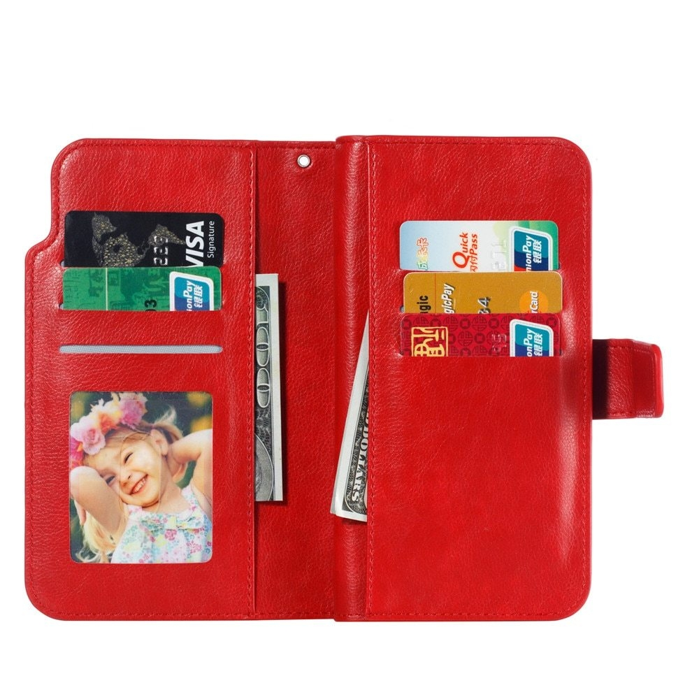 Leather case For Samsung Galaxy A6 A8 Plus A7 2018 Case Cover Wallet card holder Magnet Flip Phone cases on For Samsung Galaxy J4 J6 Plus Case Cover30
