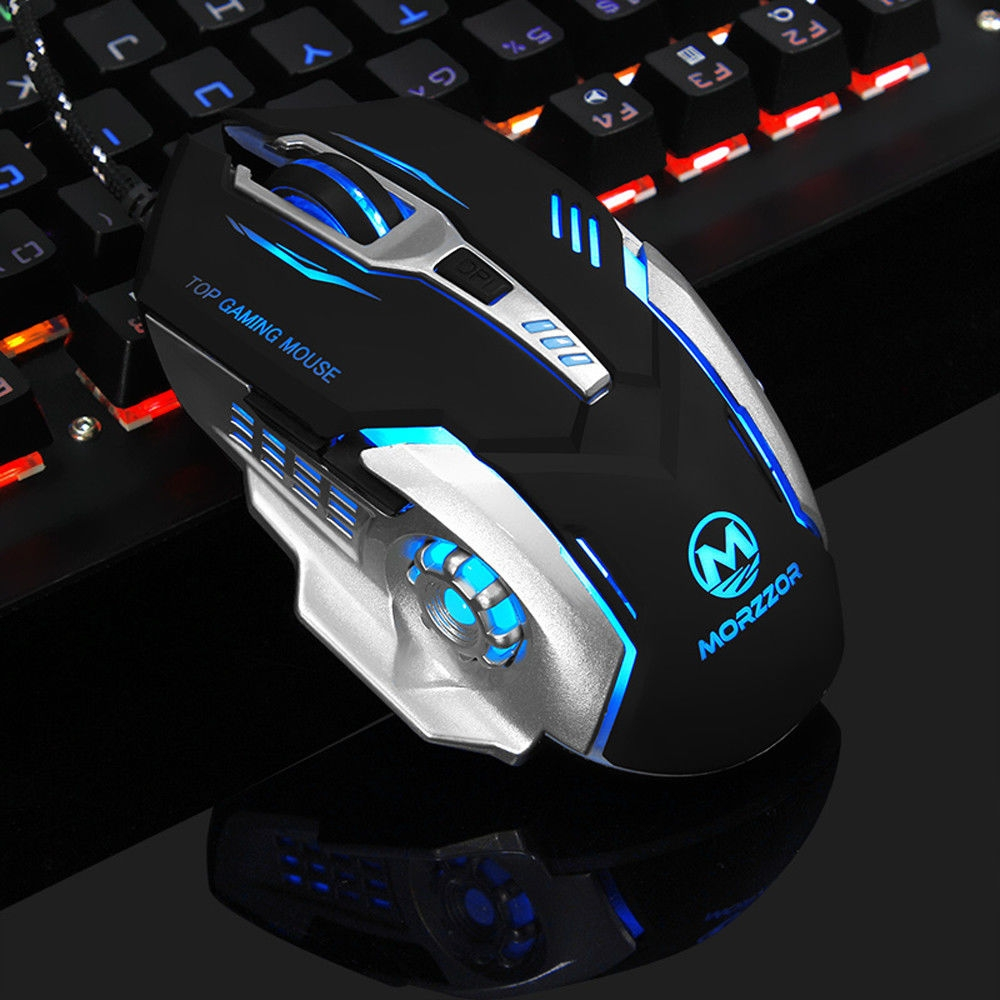 Generic Tcetoctre 3200 Dpi 6d Buttons Led Mechanical Wired Gaming Mouse For Pc Laptop Black Price In Egypt Jumia Egypt Kanbkam
