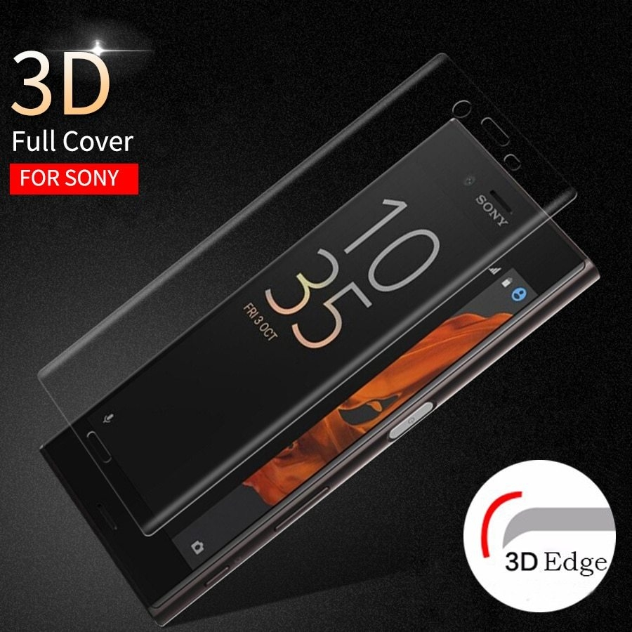 3D Curved Full Cover Screen Protector Tempered Gla...