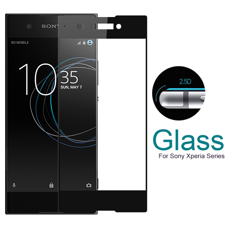 2.5D Full Screen Tempered Glass for Sony Xperia XZ...