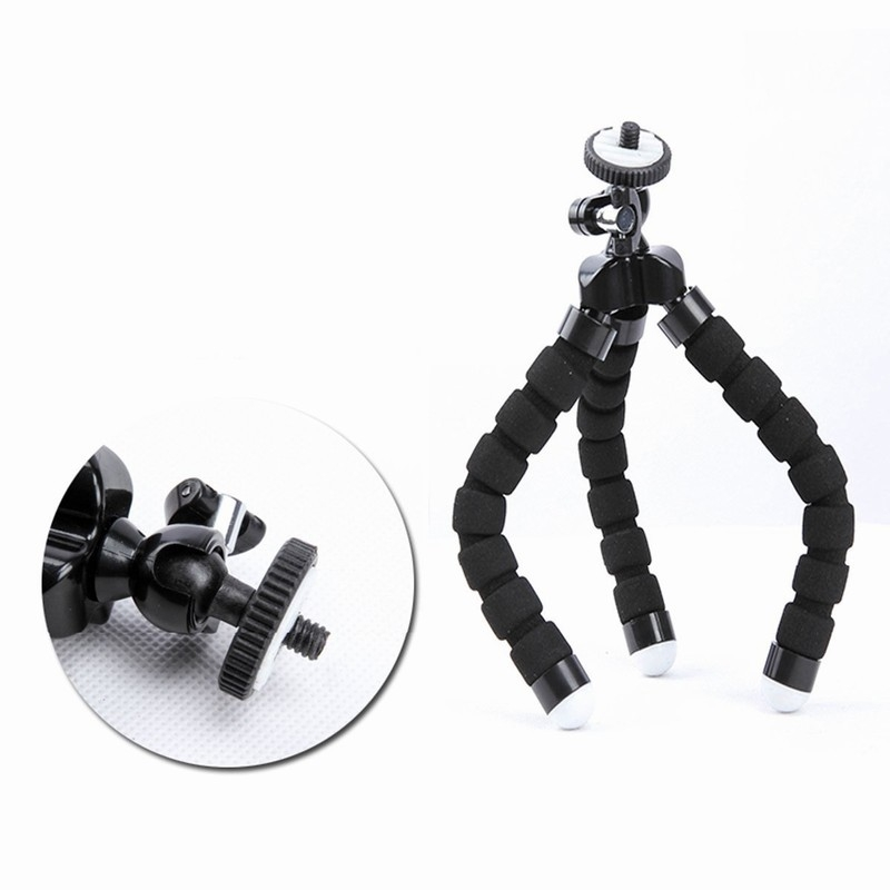 Portefeuille Tripod For Phone iPhone 7 Plus Samsung S8 S7 Edge Flexible Octopus Camera Holder Stand Smartphone Mount Accessories (7)