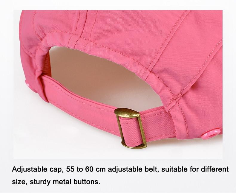 Outdoor Brand Fishing Hiking Bucket Hats For Men Women Removable Foldable Portable Waterproof Bucket Hat 26