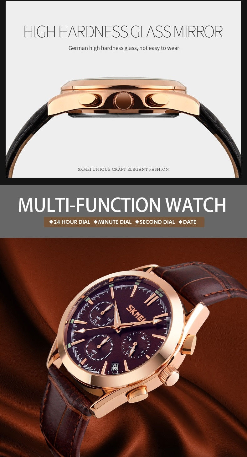 b07f03fa0 المواصفات الأساسية. Luxury design watches with stitched leather watch ...