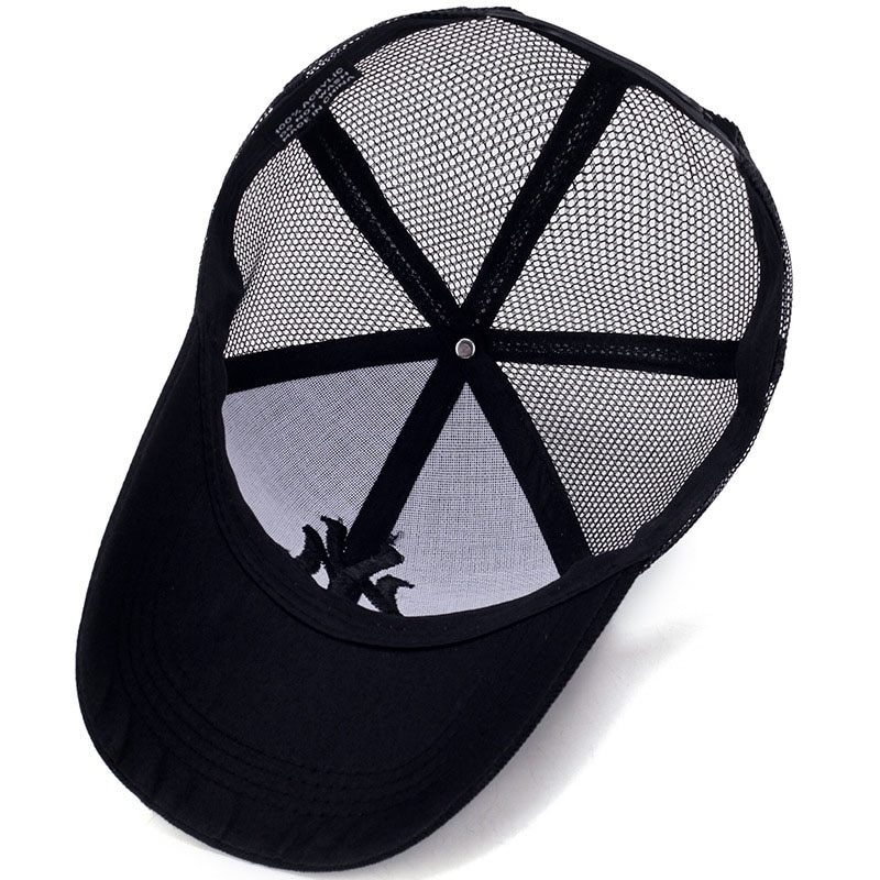 Spring Summer Unisex Baseball Caps Letter Mesh Cap Fashion Solid Embroidery Adjustable Hat Women Men Cotton Casual Hats CP0113 (12)