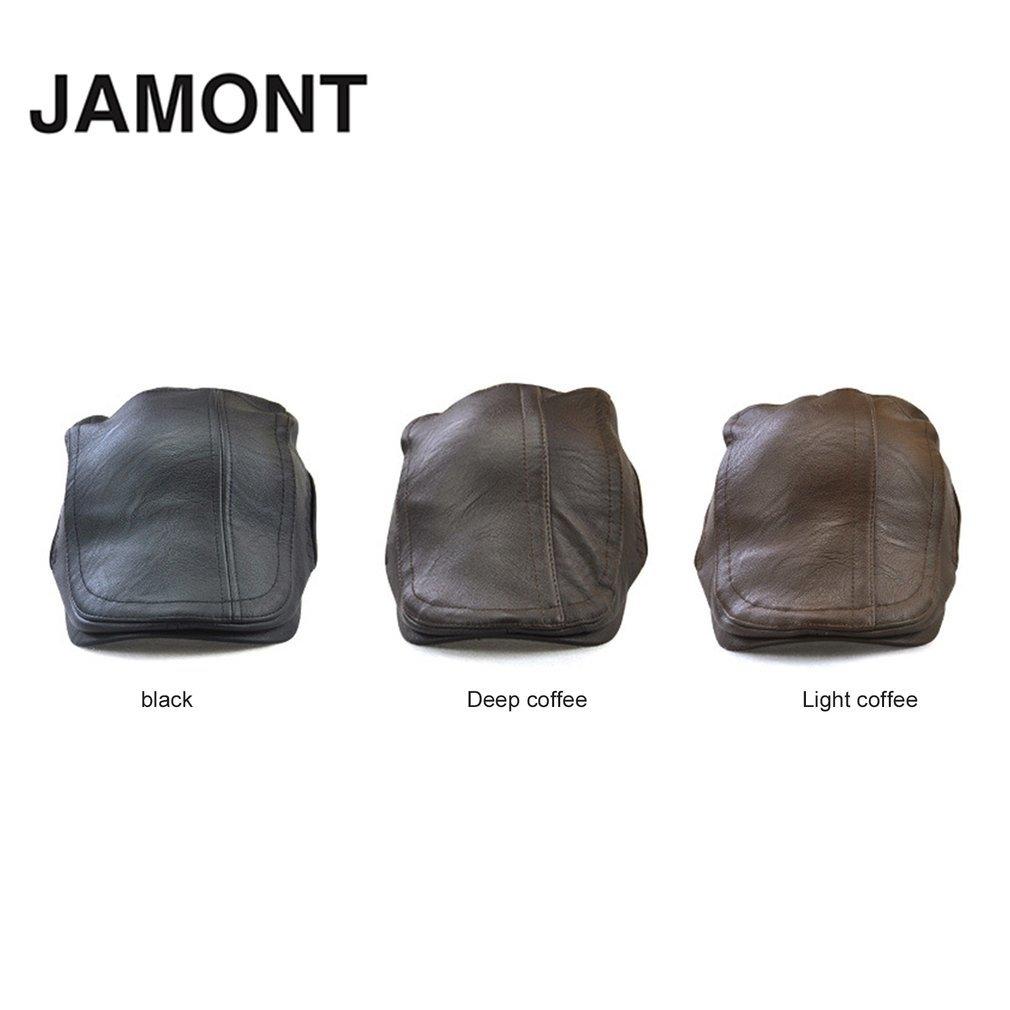 aa752dc2b694d سعر No Brand JAMONT 12982 Autumn Male Baseball Cap Men Beret Casual ...