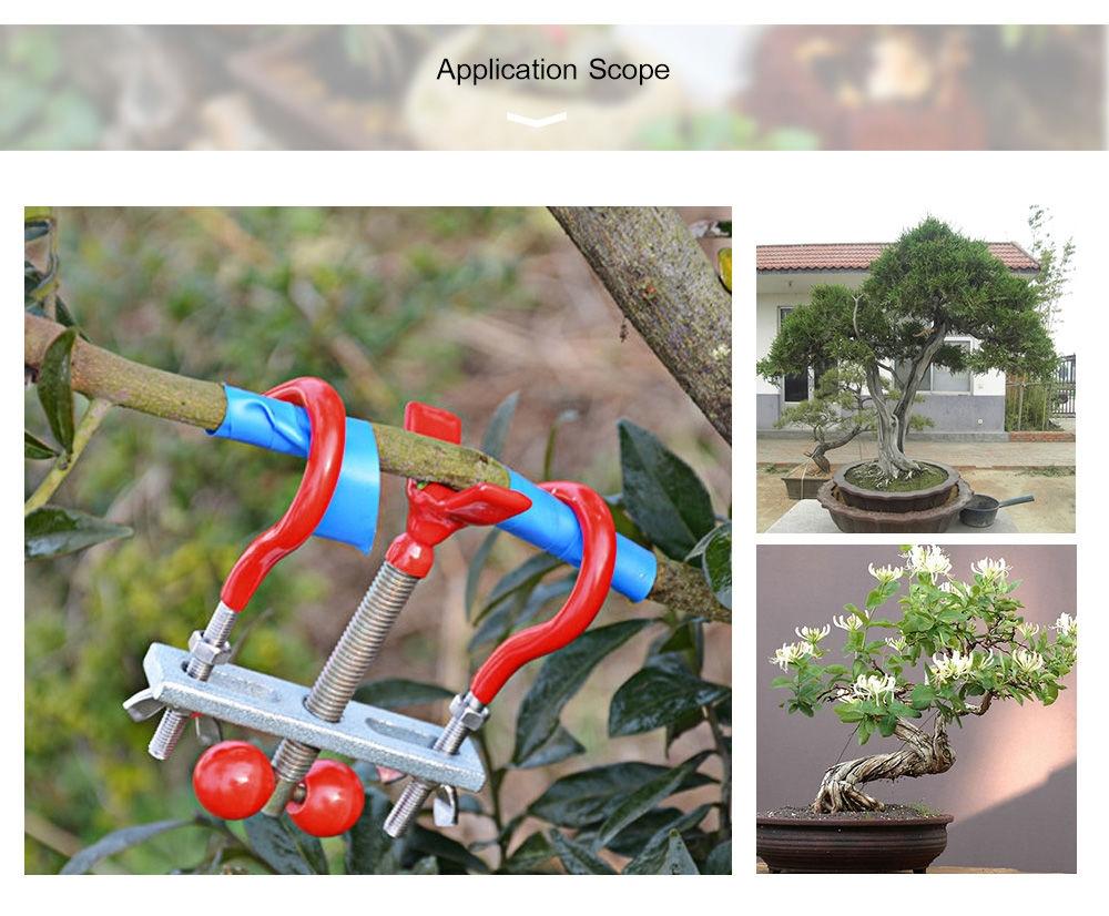 Stainless Steel Bonsai Modulator Trunk Lopper Regulator Tool