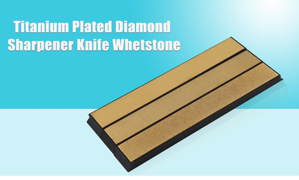 DMD 3pcs Professional Angle Diamond Sharpener Knife Whetstone