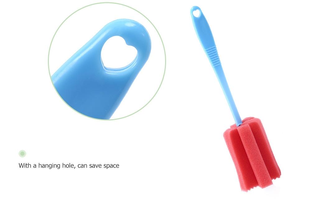 Sponge Cup Bottle Bottom Cleaning Brush