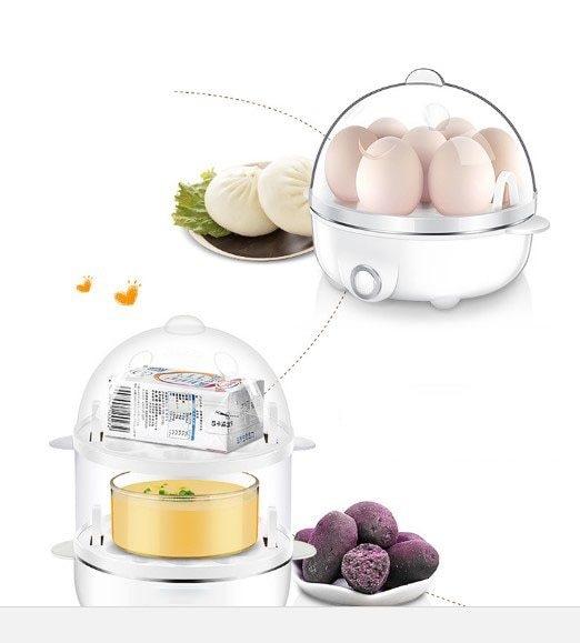 Egg boiler automatic power off household mini multi-function breakfast machine steamed chicken egg custard egg god ware (6)