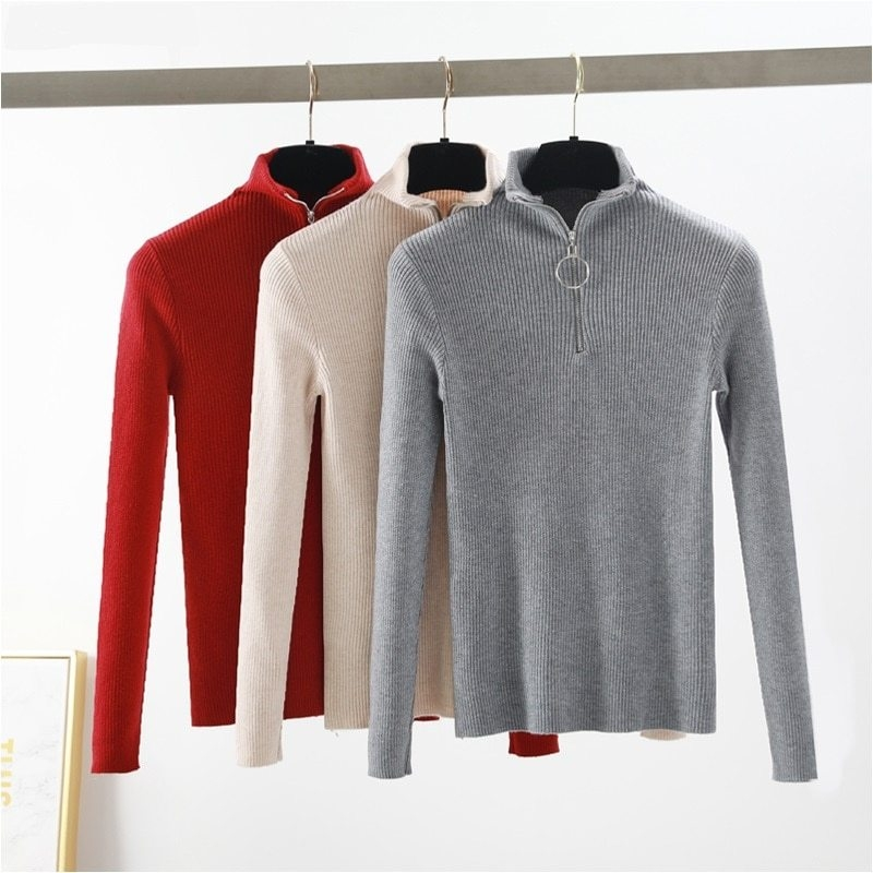 casual-Zipper-Sweater-Women-Turtleneck-Solid-spring-autumn-female-Knitted-sweater-Pullovers-long-Sleeve-chic-Soft (2)