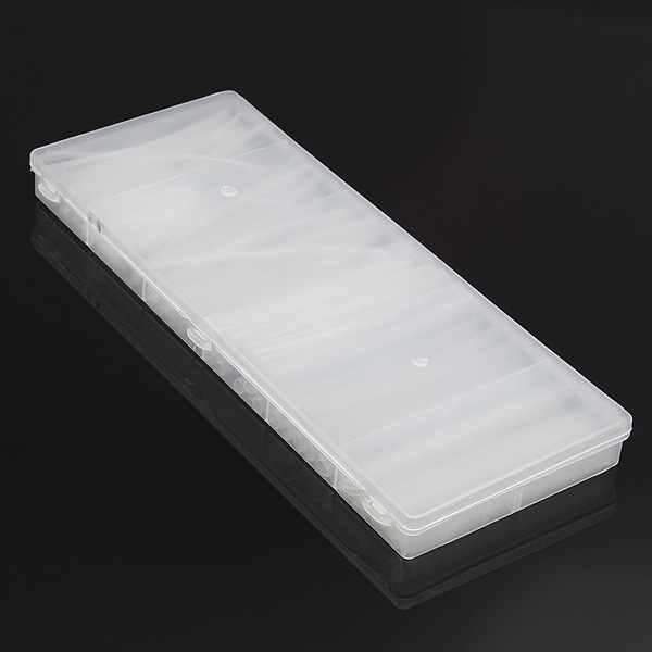 150Pcs Clear 100mm 6 Size φ1.5-10.0mm Heat Shrink Tubing Wire Wrap Tube Kit