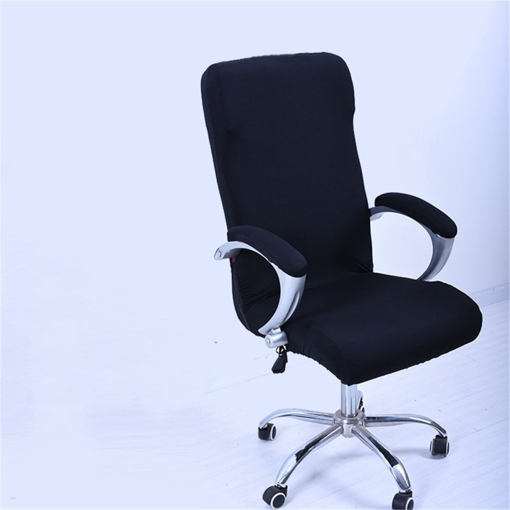Admirable L Spandex Office Chair Cover Slipcover Armrest Cover Computer Seat Cover Stool Swivel Chair Elastic Chair Is Not Included Black Creativecarmelina Interior Chair Design Creativecarmelinacom