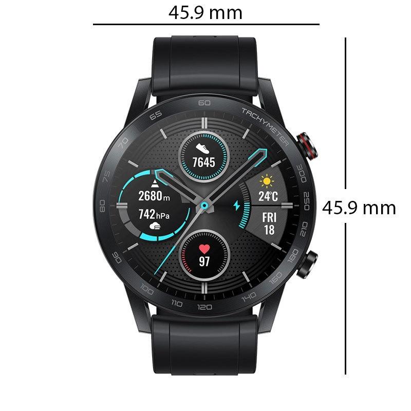 ساعة يد هونر ماجيك ووتش 2 الذكية الأبعاد